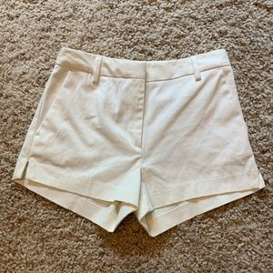 H&M White Dress Shorts